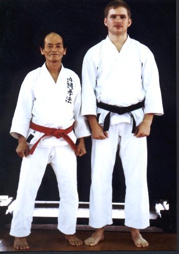 Odo Daisensei and Hershman Sensei 1988